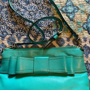 Turquoise Kate spade crossbody